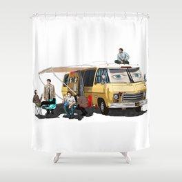 GISHBUS 2.0 Shower Curtain