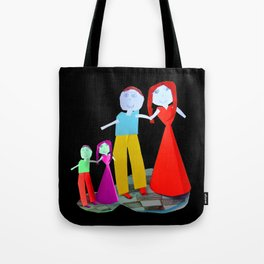 Dance me to the end of love | Kids Painting by Elisavet Tote Bag