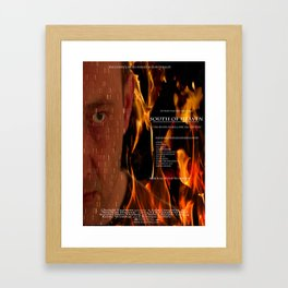South of Heaven Movie posters Framed Art Print