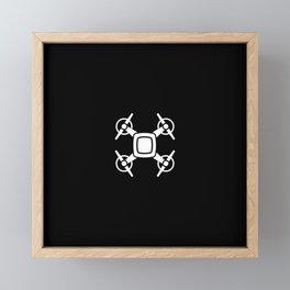 Drone Framed Mini Art Print