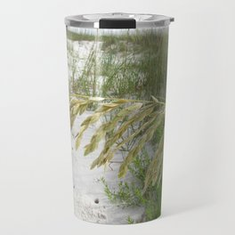 Sea Oats on Cape San Blas Beach Travel Mug