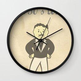 1950s Artwork Wall Clock