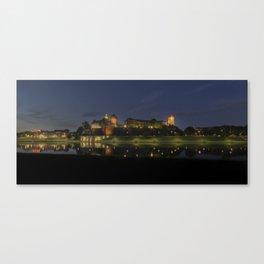 The Royal Castle. Canvas Print