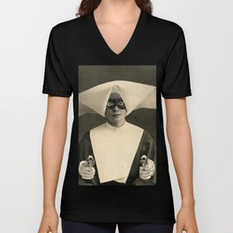 SARCHOTIC:  ANOTHER CHEAP TRICK Unisex V-Neck
