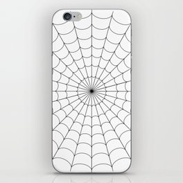 Spider | Webs | Spider web | Web design | Halloween Decor iPhone Skin