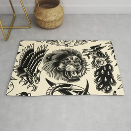 Purely picture machine Rug