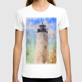 Springtime lighthouse T-shirt