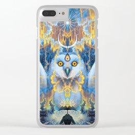 Moon Rhapsody Clear iPhone Case