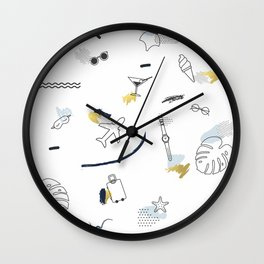 Love travel Wall Clock