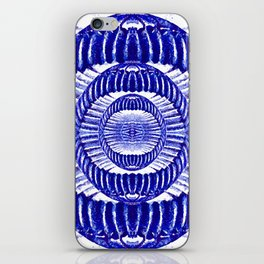 Blue Indigo iPhone Skin