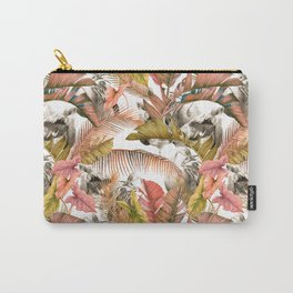 Flamingos in the pink jungle Carry-All Pouch