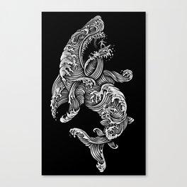 the Shark Canvas Print