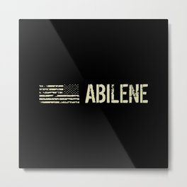 Black Flag: Abilene Metal Print