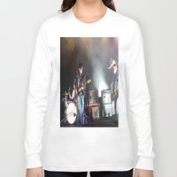 arctic monkeys Long Sleeve T-shirts featuring Arctic Monkeys in Brooklyn, New York by The Electric Blue / YenHsiang Liang