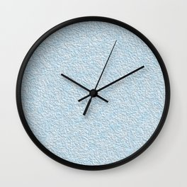 Blue plastering textures Wall Clock