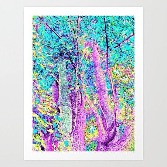 The Fairy Grove Art Print