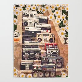 Boombox Collection Poster