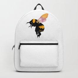 Honey Bee Flower Rainbow Wings Backpack