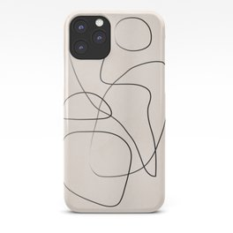 Abstract Line I iPhone Case
