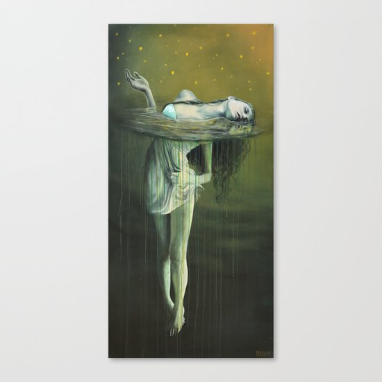 The Drowning Canvas Print