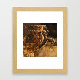 Zenkenzo's Run Framed Art Print