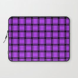 Light Violet Weave Laptop Sleeve