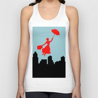 mary poppins Tank Tops featuring Mary Poppins  by Sammycrafts