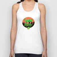 planes Tank Tops featuring Planes & Jane's by Chefleclef