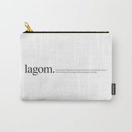 Lagom -Wiki Carry-All Pouch