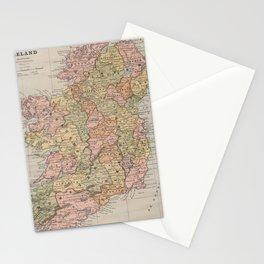 Vintage Map of Ireland (1883) Stationery Cards