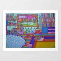 Room Art Print