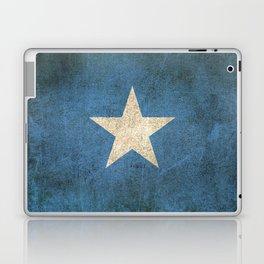 Old and Worn Distressed Vintage Flag of Somalia Laptop & iPad Skin