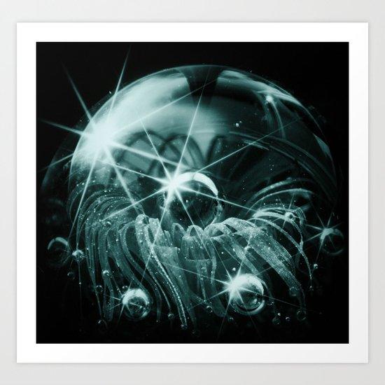 Bubble Dreams_Series Art Print