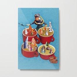 Fish Soup Metal Print