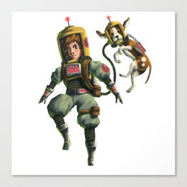 Juno and the Echo Dog Canvas Print