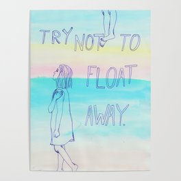 floating away Poster