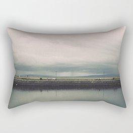 Rainstorm at Claddagh Rectangular Pillow