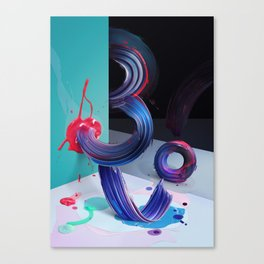 Atypical 3 Canvas Print