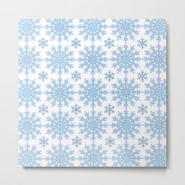 Snowflake Medallion Pattern 1 Metal Print