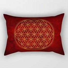 Flower of Life Collection Rectangular Pillow