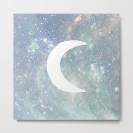 The Moon & Stars Metal Print