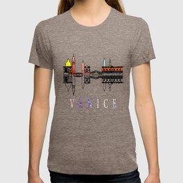 Venice skyline. Italy T-shirt