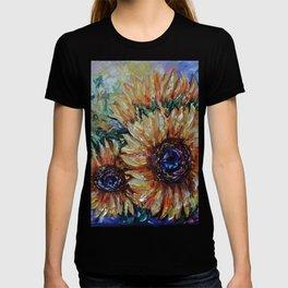 Ah, Sunflower by Lena Owens T-shirt