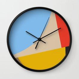 Mid Century Minimal 6 Wall Clock