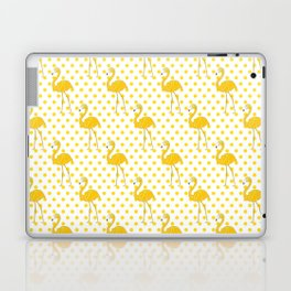 Yellow Flamingo  - Bird Laptop & iPad Skin