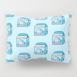 Great White Milk Pillow Sham
