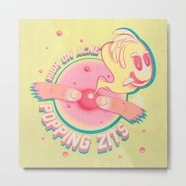 popping zits Metal Print