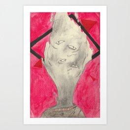 The Observer Art Print