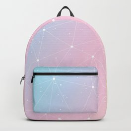 Rainbow Watercolor Astronomy Backpack