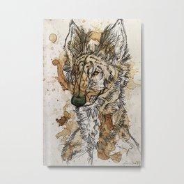 Latte Lycans - Kona Metal Print